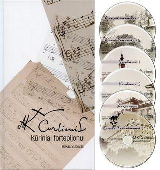 M. K. Čiurlionis. Kūriniai fortepijonui (6 CD)