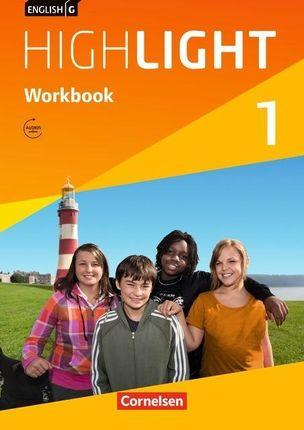 English G Highlight  01: 5. Schuljahr. Workbook mit Audios online. Hauptschule