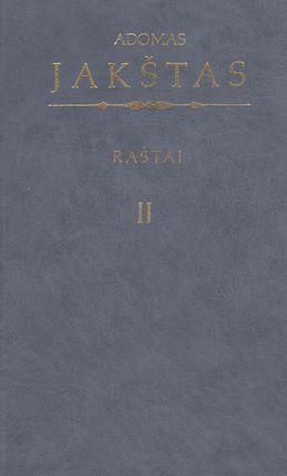 Raštai II. Adomas Jakštas