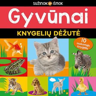 Gyvūnai. Knygelių dėžutė
