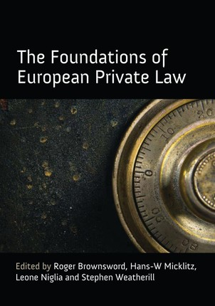 The Foundations of European Private Law