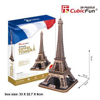 3D dėlionė: Eifelio bokštas (82)