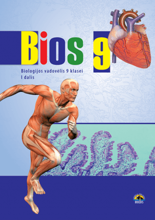 Bios 9. Biologijos vadovėlis 9 kl., I d.