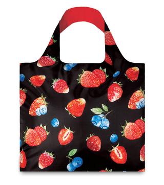 """LOQI pirkinių krepšys """"Strawberries"""""""