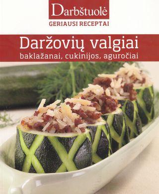 Daržovių valgiai: baklažanai, cukinijos, aguročiai