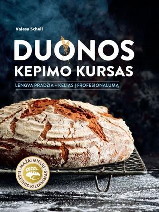 Duonos kepimo kursas: lengva pradžia – kelias į profesionalumą