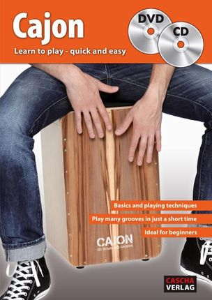 Cajon: Learn to play - quick and easy + CD + DVD