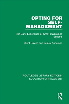 Opting for Self-management