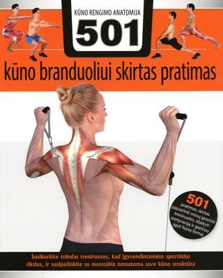 Kūno rengybos anatomija: 501 kūno branduoliui skirtas pratimas