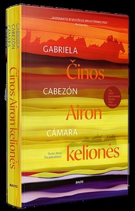 ČINOS AIRON KELIONĖS. Tirštas, sodrus ir gurmaniškas pasakojimas išskirtinės literatūros gerbėjams
