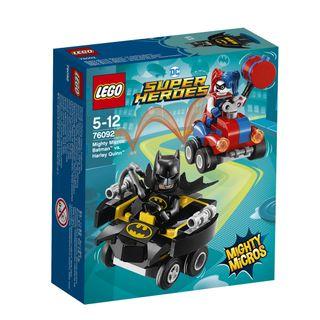 76092 LEGO® Super Heroes Galingi mažieji: Batman™ prieš Harley Quinn™