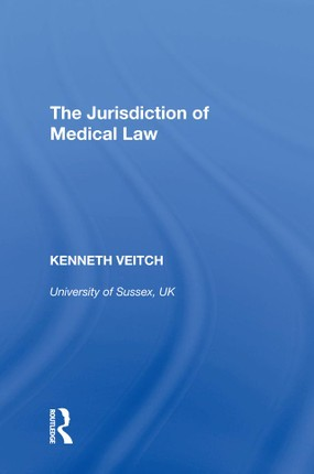 The Jurisdiction of Medical Law