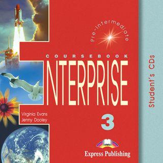 Enterprise 3. Student's CD. Klausymo diskas