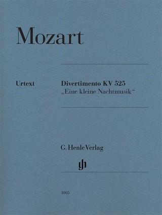 """Divertimento KV 525 """"Eine kleine Nachtmusik"""", Urtext"""