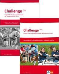 Challenge Baden-Württemberg. Arbeitsmaterial-Paket. Enthält Workbook mit EXAM TRAINIG und Vocabulary Notebook