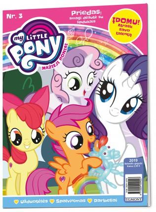 Mažieji poniai. My little pony. Žurnalas. Nr 3