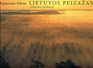 Lietuvos peizažas. Lithuanian landscape (su dėklu)