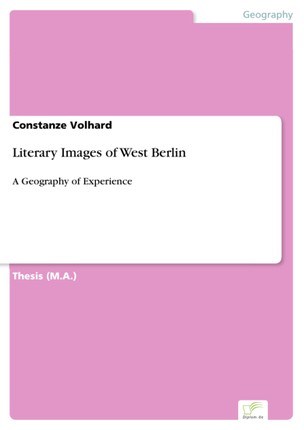 Literary Images of West Berlin