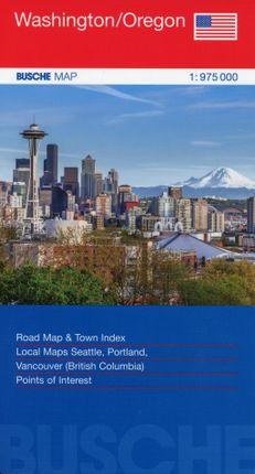 USA Washington/Oregon 1:975 000