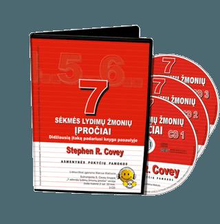 7 sėkmės lydimų žmonių įpročiai. Didžiausią įtaką padariusi knyga pasaulyje. Audio knyga. 3 CD