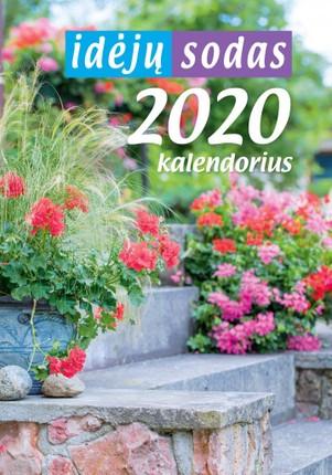 2020 m. sieninis kalendorius Idėjų sodas