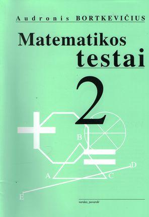 Matematikos testai 2 klasei