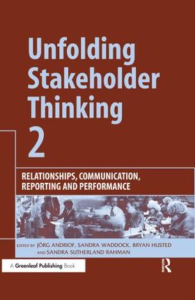 Unfolding Stakeholder Thinking 2