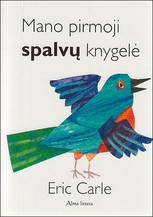 Mano pirmoji spalvų knygelė