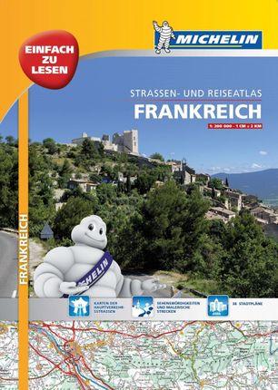Michelin Straßenatlas Frankreich 1 : 200 000 mit Spiralbindung