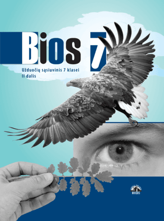 Bios 7. Biologijos užduočių sąsiuvinis 7 klasei. II dalis