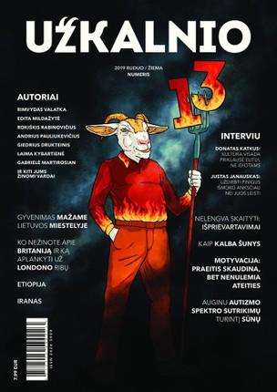 UŽKALNIO žurnalas. Nr 13
