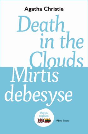 Death in the clouds. Mirtis debesyse: skaitau angliškai
