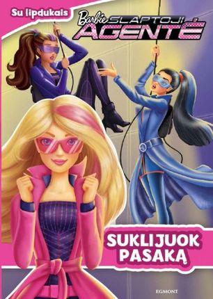 Barbie slaptoji agentė. Suklijuok pasaką