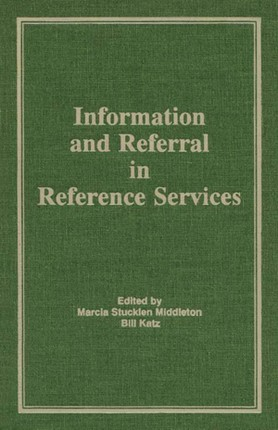 Information and Referral in Reference Services