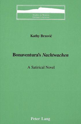 Bonaventura's «Nachtwachen»
