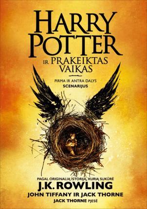 Haris Poteris ir prakeiktas vaikas. Pirma ir antra dalys. Scenarijus