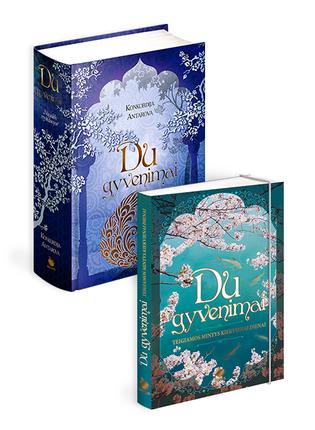 DU GYVENIMAI COMBO RINKINYS: sielą gydanti ir savęs pažinimo keliu vedanti knyga DU GYVENIMAI + teigiamų pokyčių knygutė su įkvepiančiomis DVIEJŲ GYVENIMŲ citatomis