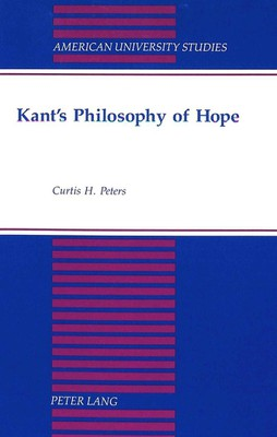 Kant's Philosophy of Hope