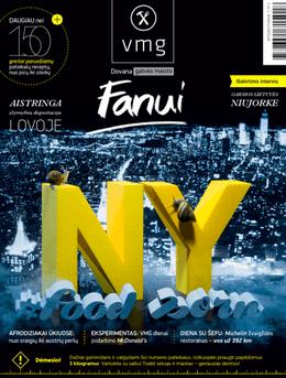 Pirmas kulinarinis žurnalas N-18! Virtuvės mitų griovėjai. Niujorkas + Seksas ir maistas