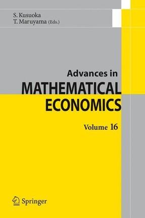 Advances in Mathematical Economics Volume 16