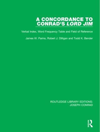 A Concordance to Conrad's Lord Jim