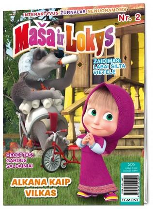 Maša ir lokys. Žurnalas 2020/2