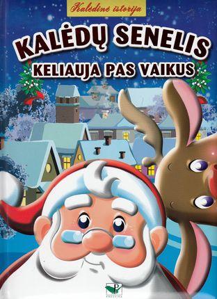 Kalėdų senelis keliauja pas vaikus
