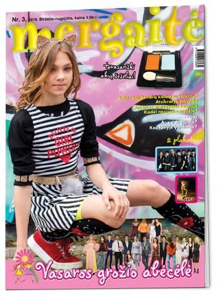 Mergaitė. Žurnalas. Nr 3 2019