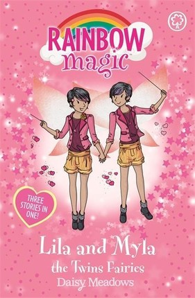 Rainbow Magic: Lila and Myla the Twins Fairies