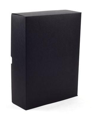 Dėžutė knygoms (juoda, 28 x 21,5 x 8 cm)