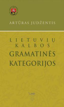 Lietuvių kalbos gramatinės kategorijos