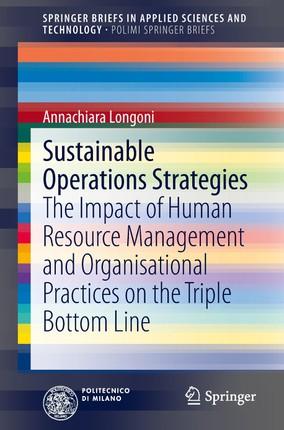 Sustainable Operations Strategies