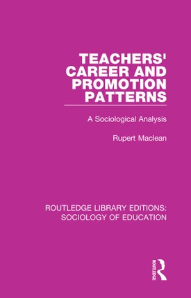 Teachers' Career and Promotion Patterns