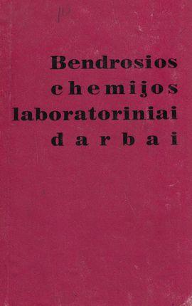 Bendrosios chemijos laboratoriniai darbai